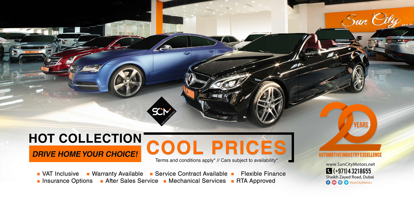 Sun City Motors Eid Sizzling Offers