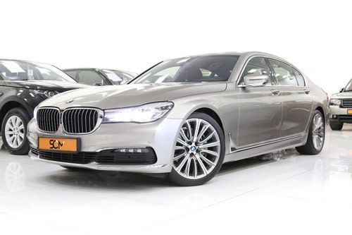 BMW 740 Li 3.0 V6 TWIN TURBO
