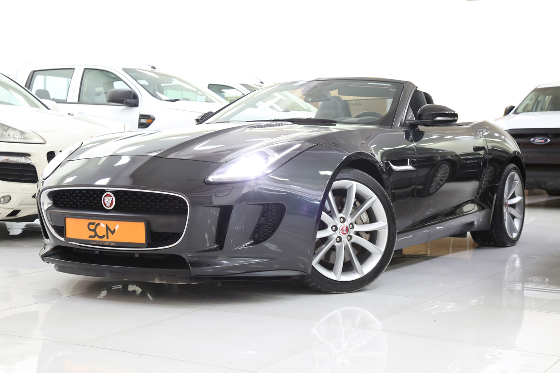 JAGUAR F-TYPE 3.0 CONVERTIBLE V6 SUPERCHARGED