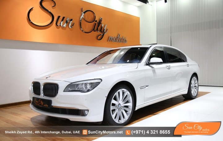 Bmw 740li Low Mileage Warranty And Service Contract From