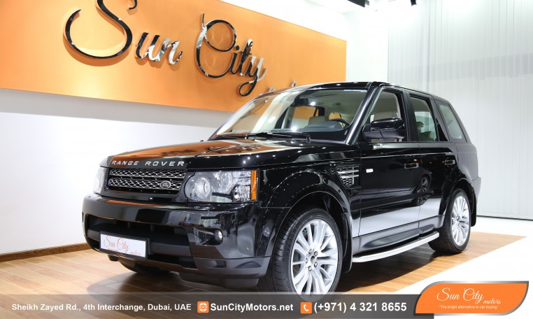 RANGE ROVER SPORT HSE – FSH AL TAYER WARRANTY – IMMACULATE CONDITION