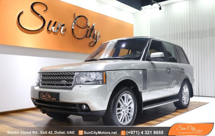 2010 RANGE ROVER VOGUE HSE – LOW MILEAGE – FSH AL TAYER