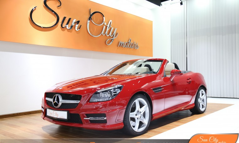 "MERCEDES SLK  – FSH AND WARRANTY FROM ""EMC"" – GREAT DEAL – AMG KIT"