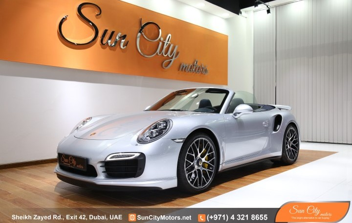 "PORSCHE 911 TURBO ""S"" CONVERTIBLE – WARRANTY – STUNNING CAR"