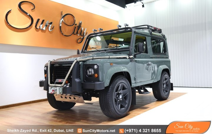 (( 2016 0 Km )) LAND ROVER DEFENDER – FINAL EDITION FULL CUSTOM – AL TAYER WARRANTY