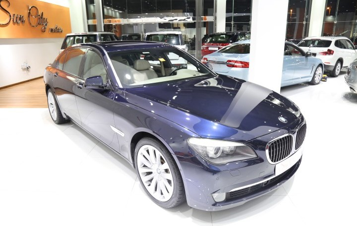 "BMW 750Li ""SPECIAL COLOR"" FULL OPTIONS AMAZING"