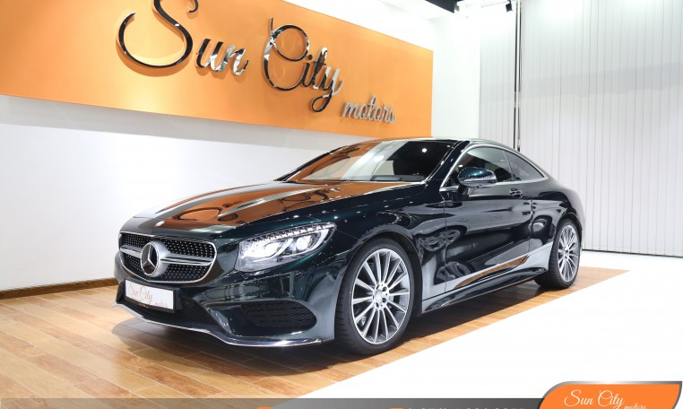 MERCEDES S500 COUPE 2016 UNDER WARRANTY IMMACULATE CONDITION