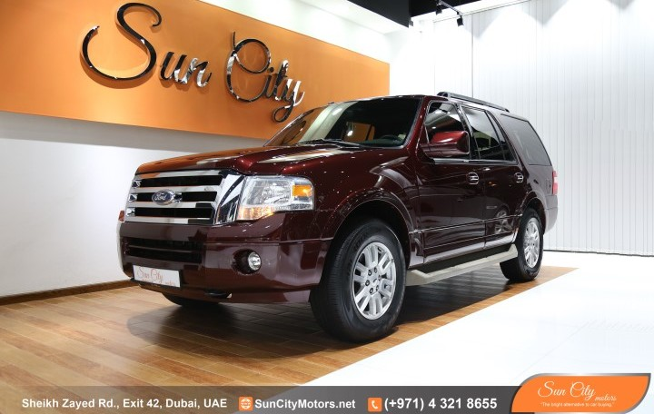 FORD EXPEDITION XLT – FULL OPTIONS REAR DVD AND CAMERA – FSH AL TAYER