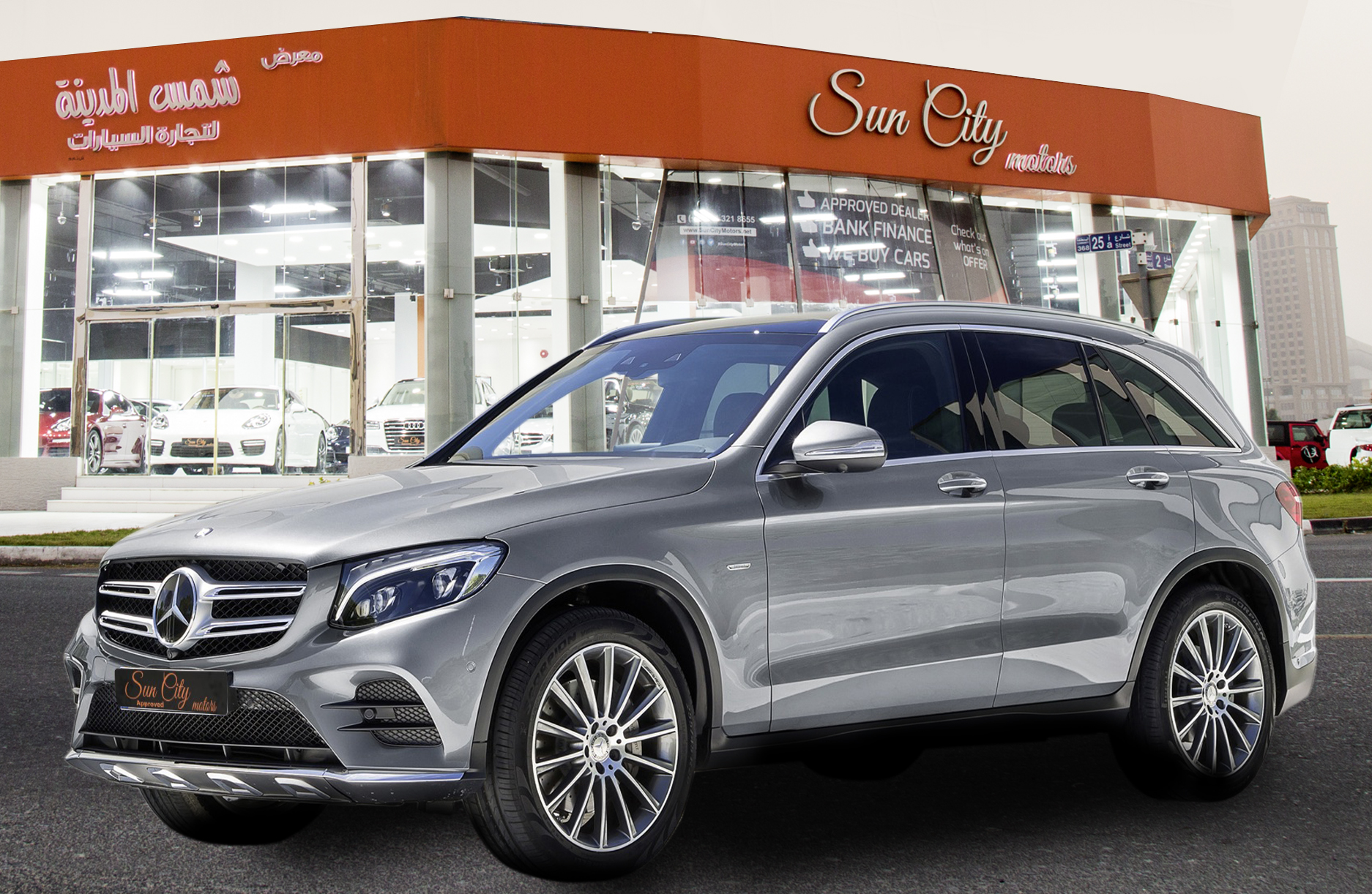 2016 Mercedes Benz Glc Drive Fast With Class Sun City