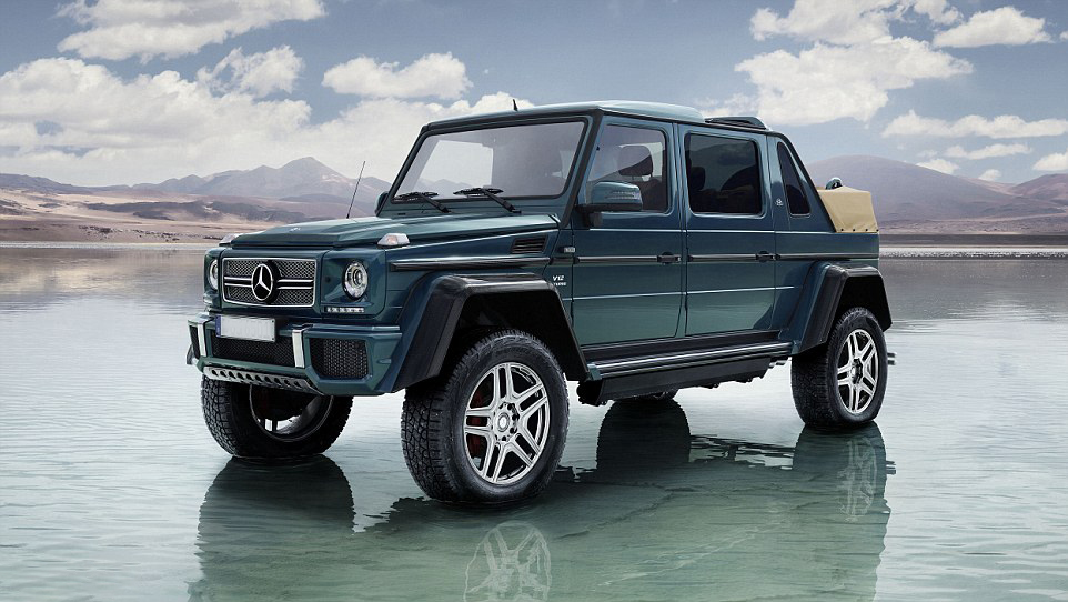 Mercedes benz unveils world 39 s most expensive suv for Mercedes benz most expensive