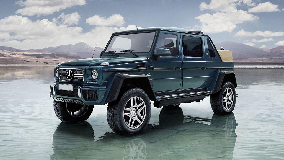 Mercedes benz unveils world 39 s most expensive suv for Mercedes benz most expensive