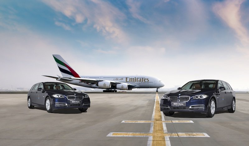 Emirates Airlines 39 Newest Fleet To Use Bmw Vehicles For