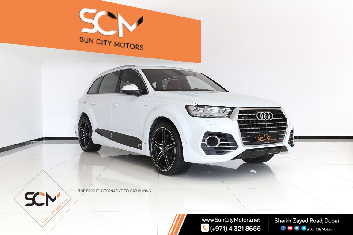 Audi q7 45tfsi abt sun city motors for Sun motor cars audi