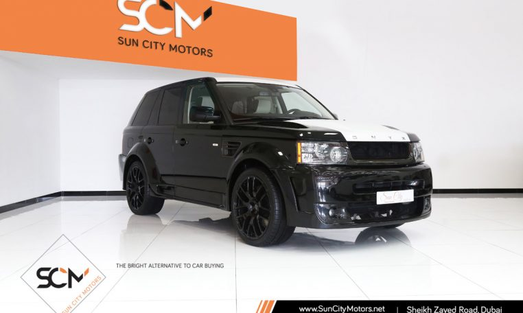 RANGE ROVER SPORT SUPERCHARGED ONYX