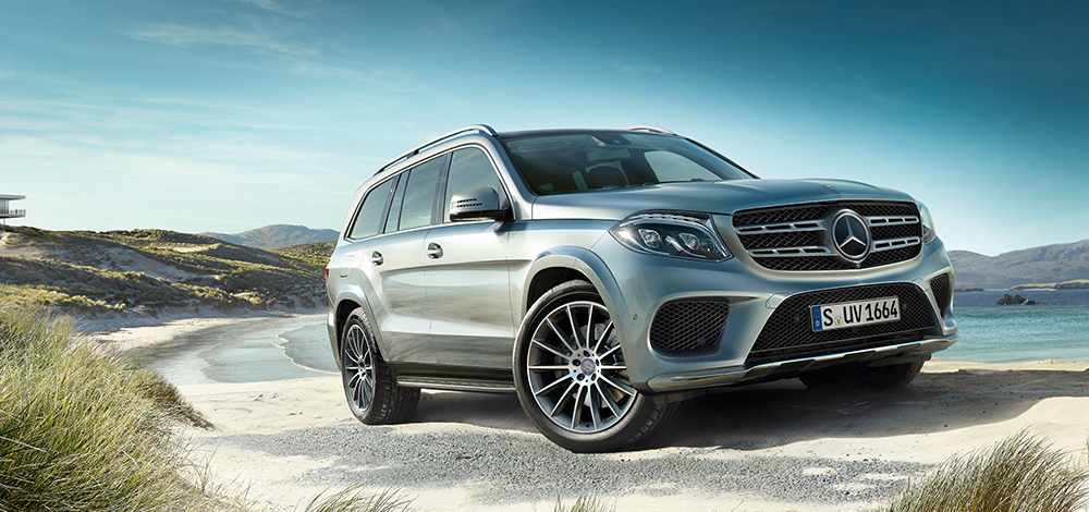 Mercedes benz gls suv to become lighter and posher sun for Mercedes benz gls suv