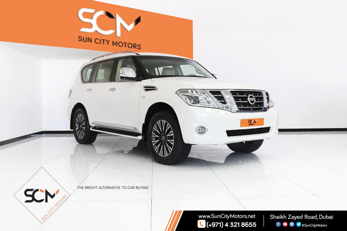 Nissan Patrol Platinum Le Sun City Motors