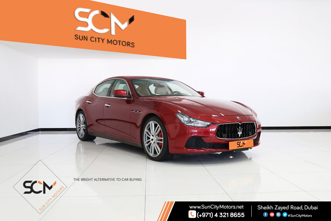 Maserati Ghibli S Q4 Sun City Motors
