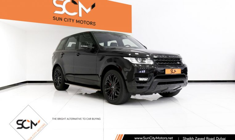 RANGE ROVER SPORT 5.0 SUPERCHARGED
