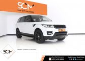 RANGE ROVER SPORT 3.0 HSE – SUPERCHARGED