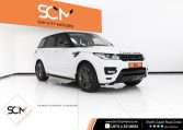 RANGE ROVER SPORT 3.0 SUPERCHARGED