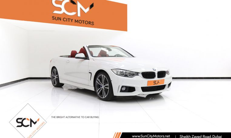 BMW 435i M SPORT CONVERTIBLE