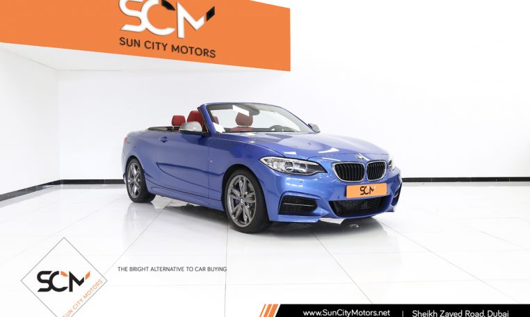 BMW 235i M-SPORT CONVERTIBLE