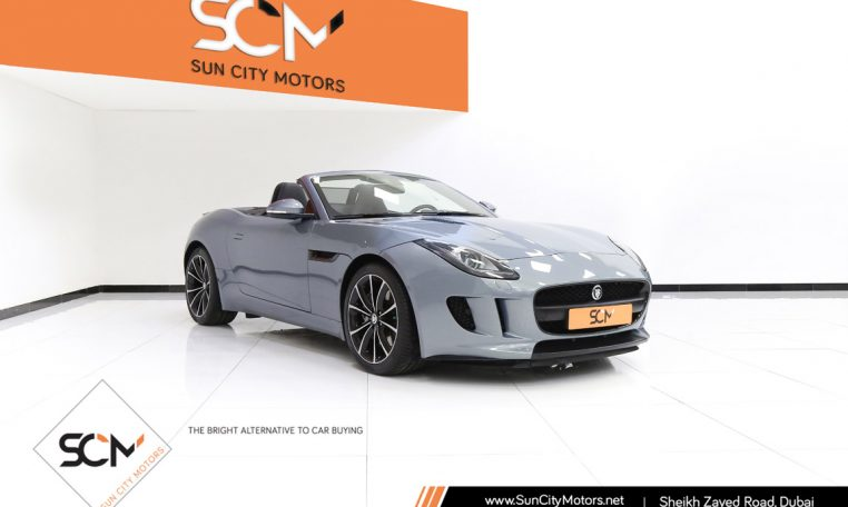 JAGUAR F-TYPE 3.0 CONVERTIBLE