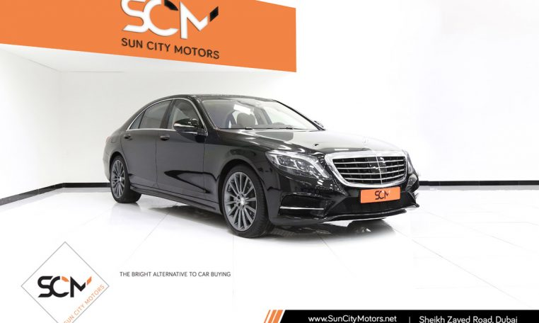 MERCEDES-BENZ S500 V8 BITURBO
