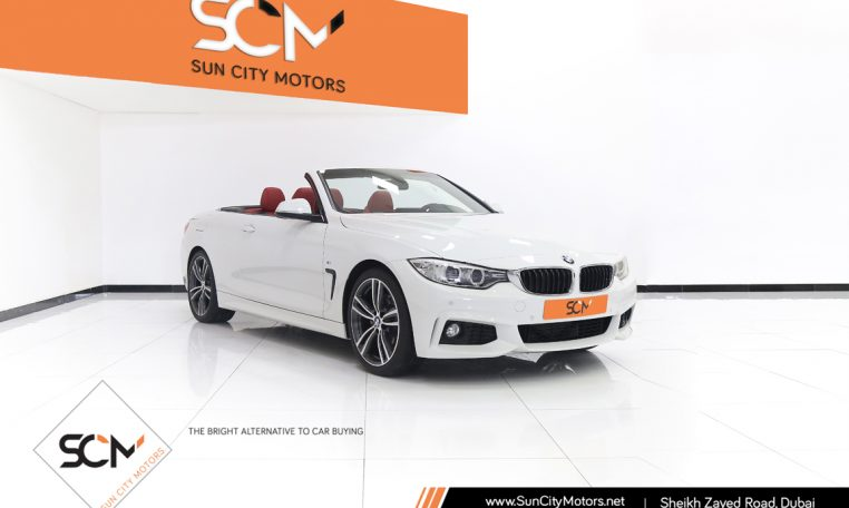 BMW 428i M-SPORT CONVERTIBLE