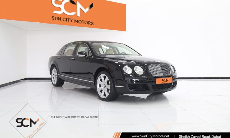 BENTLEY CONTINENTAL FLYING SPUR 6.0 W12 TURBO