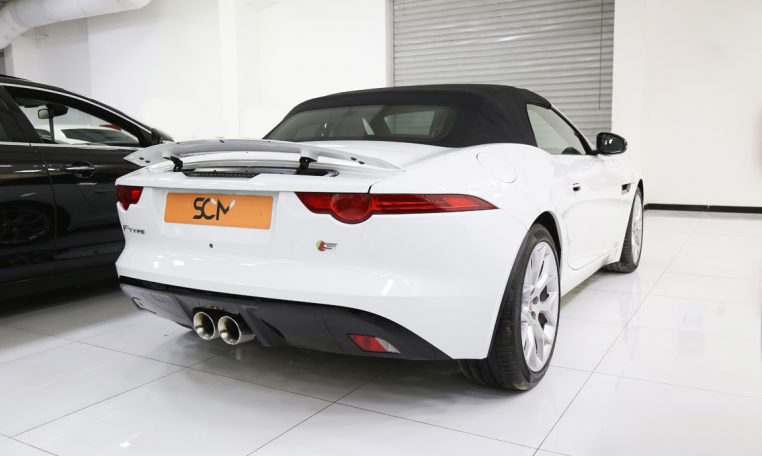 JAGUAR F-TYPE S COUPE CONVERTIBLE