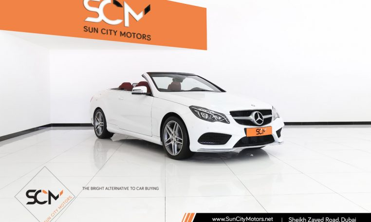 MERCEDES E250 CONVERTIBLE 2.0L i4 TURBO